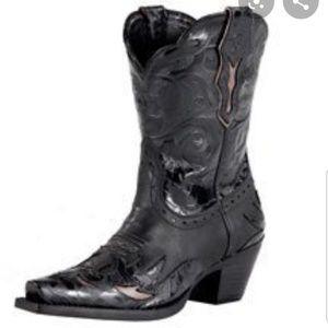 Ariat Dahlia Pitch leather Floral Cowboy Boots
